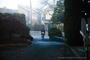 Many students cycle to school.