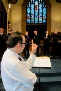 Abendmusik Lent 2014 Michael conducts men