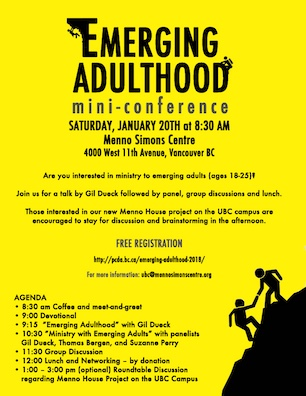 Emerging Adulthood mini-conference (thumbnail)